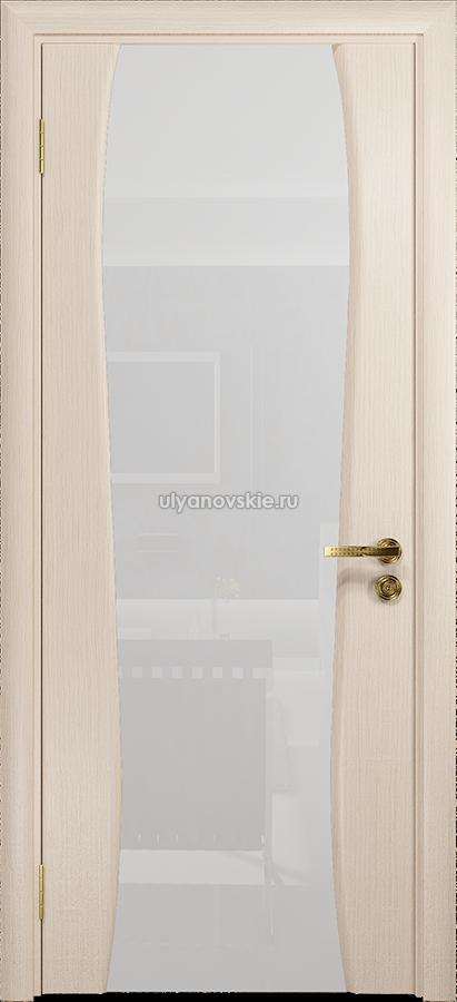 Портелло-2 белёный дуб, триплекс Белый