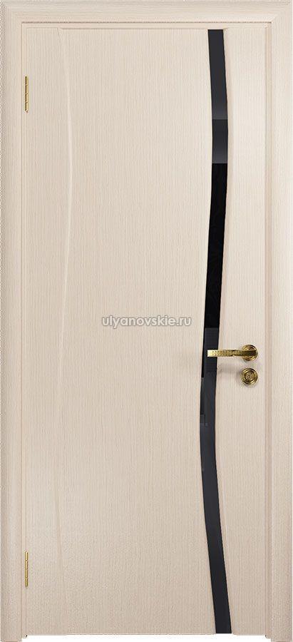 Грация-1 Беленый дуб, триплекс Черный