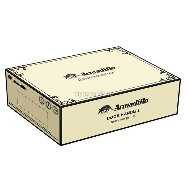 Ручка Armadillo Silvia CL1-AS/СRP-109 Античное серебро/кракелюр