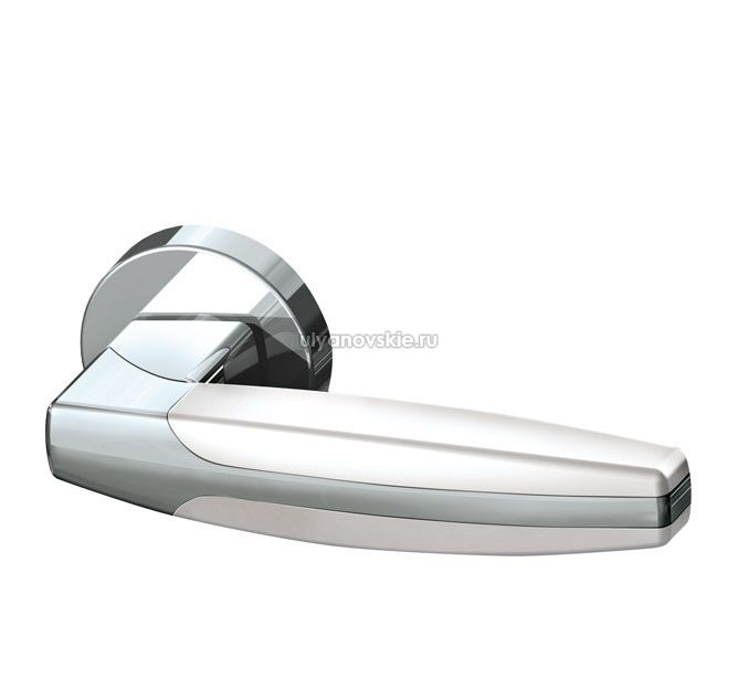 Ручка Armadillo ARC URB2-CP/CP/White-14 Хром/хром/белый