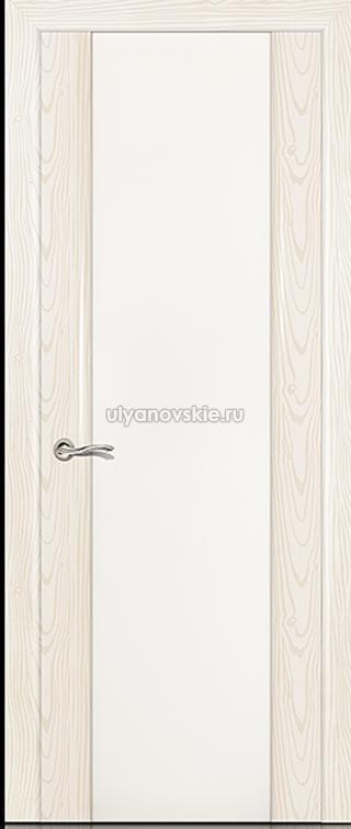 Ситидорс Циркон 3, Белый ясень, Большое стекло