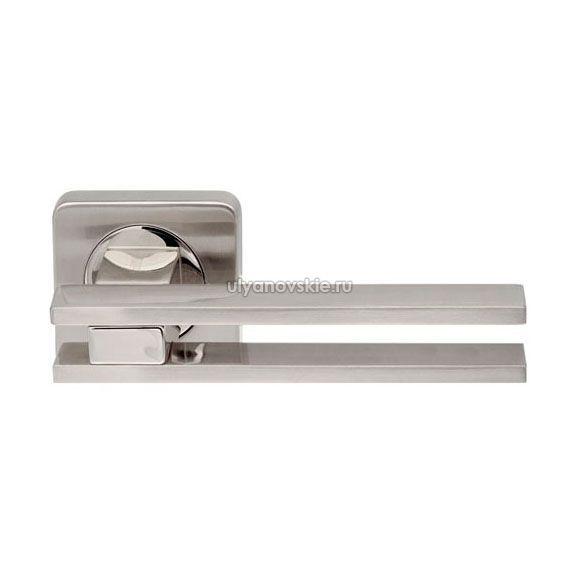 Ручка Bristol SQ006-21SN/CP-3 матовый никель/хром