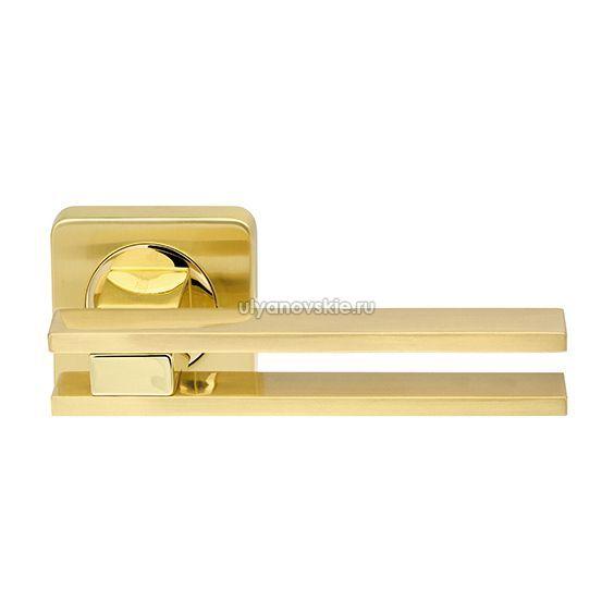 Ручка Bristol SQ006-21SG/GP-4 матовое золото/золото