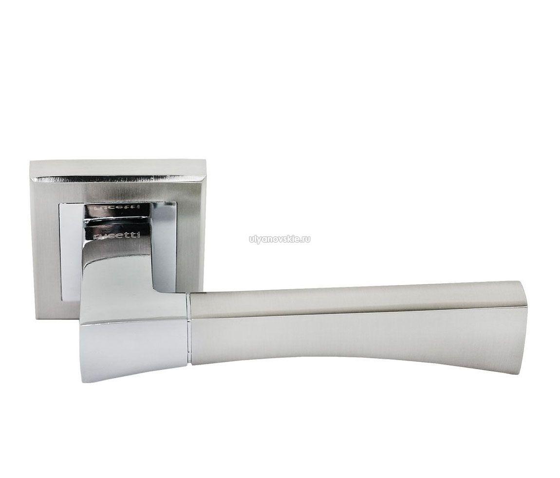 Ручка Rucetti RAP 12-S SN/CP Белый никель/хром