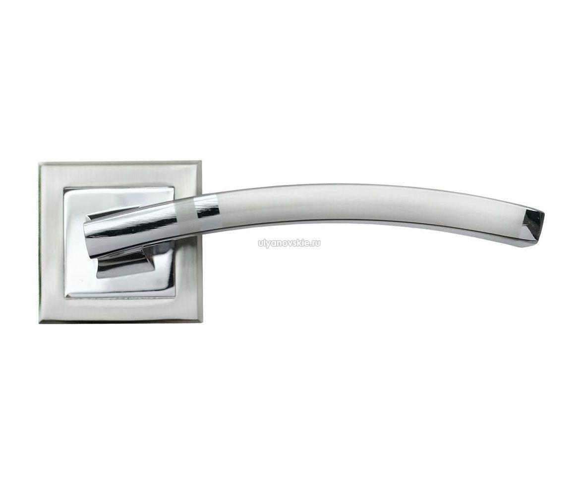Ручка Rucetti RAP 13-S SN/CP Белый никель/хром