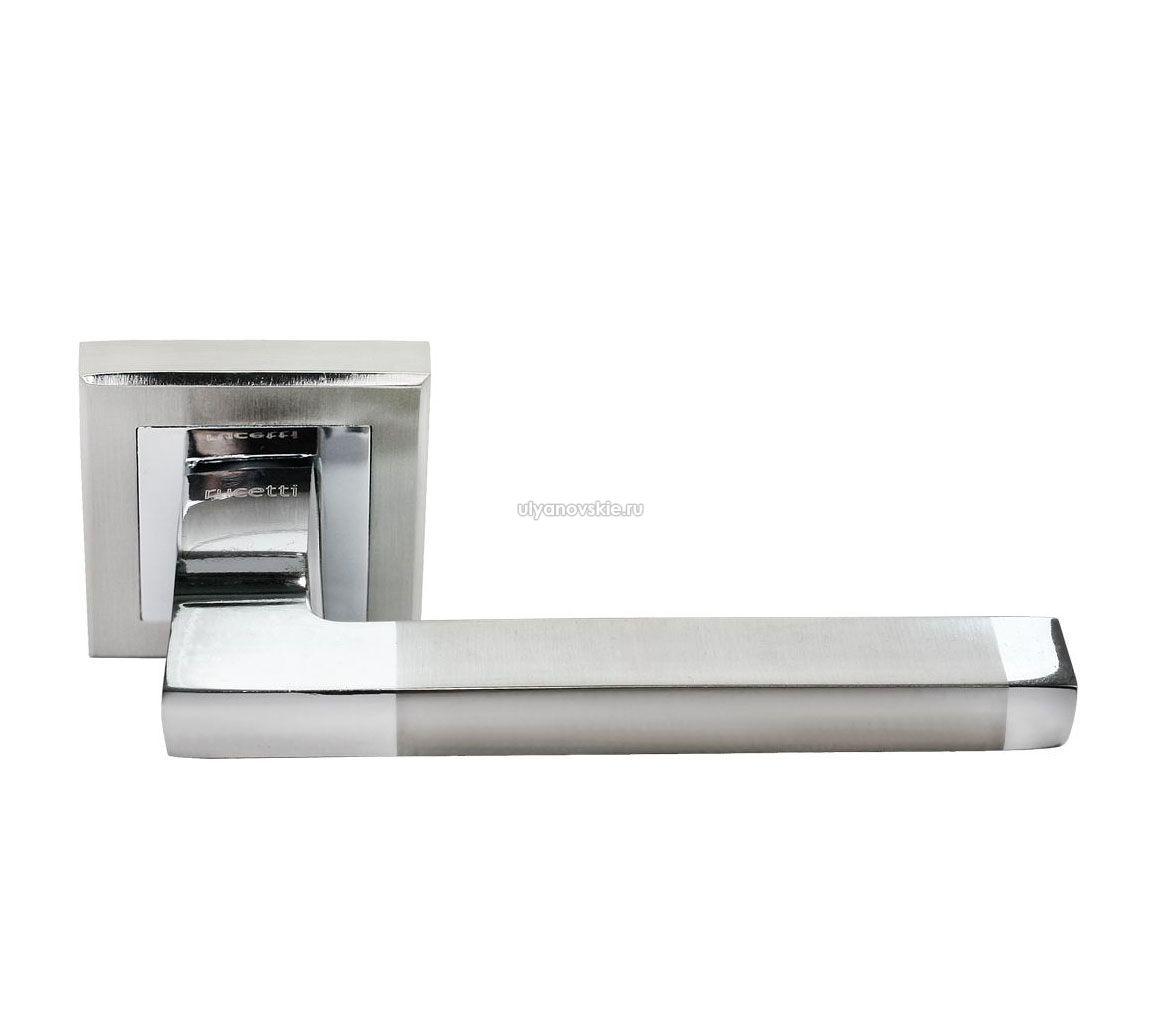 Ручка Rucetti RAP 17-S SN/CP Белый никель/хром