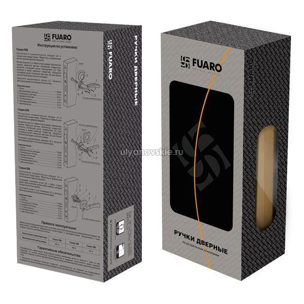 Ручка Fuaro RM Aria матовый никель/хром