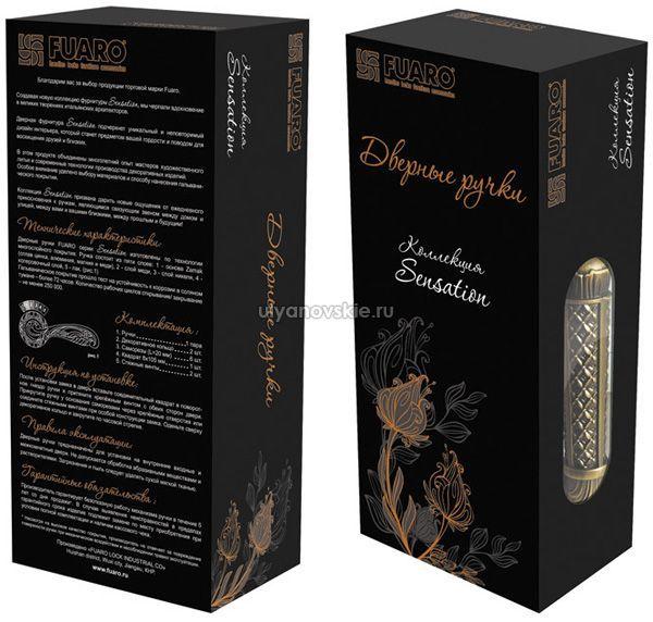 Ручка Fuaro SM Imperia темная бронза