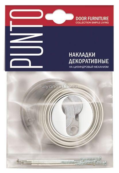 Накладка Punto ET ML-SN/CP-3 матовый никель/хром
