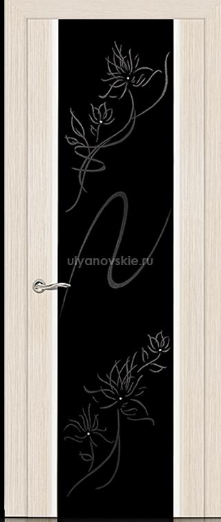 Ситидорс Бриллиант, Белёный дуб, Большое стекло со стразами