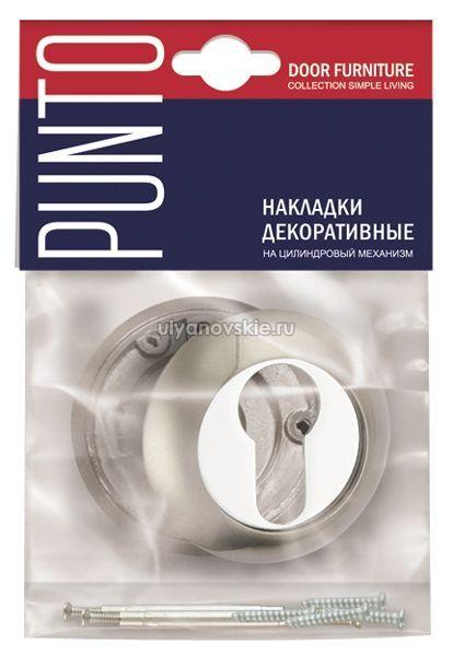 Накладка Punto ET TL-SN/CP-3 матовый никель/хром