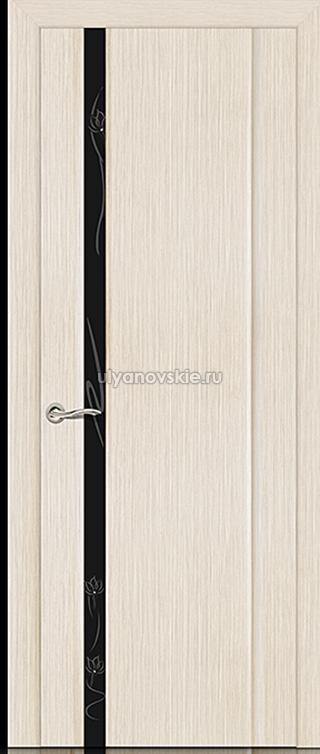Ситидорс Бриллиант 1, Белёный дуб, Узкое стекло