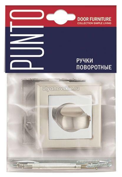 Фиксатор Punto BK6 QL-SN/CP-3 матовый никель/хром