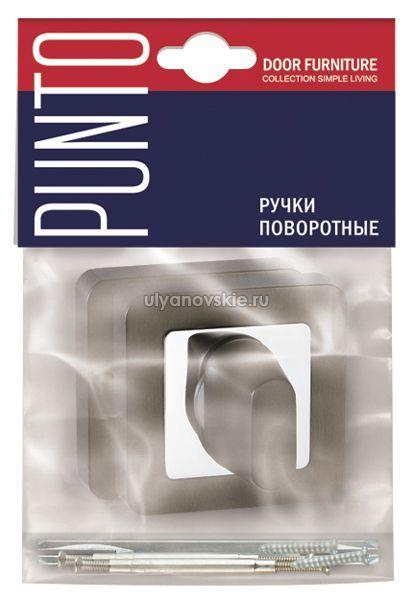 Фиксатор Punto BK6 QR-SN/CP-3 матовый никель/хром