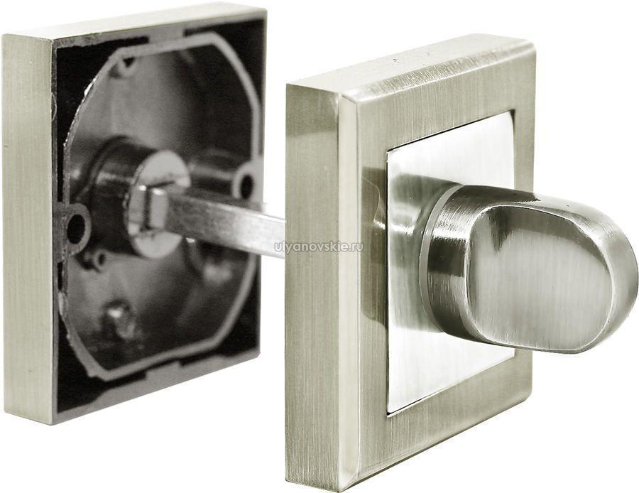 Фиксатор Rucetti RAP WC-S SN/CP Белый никель/хром