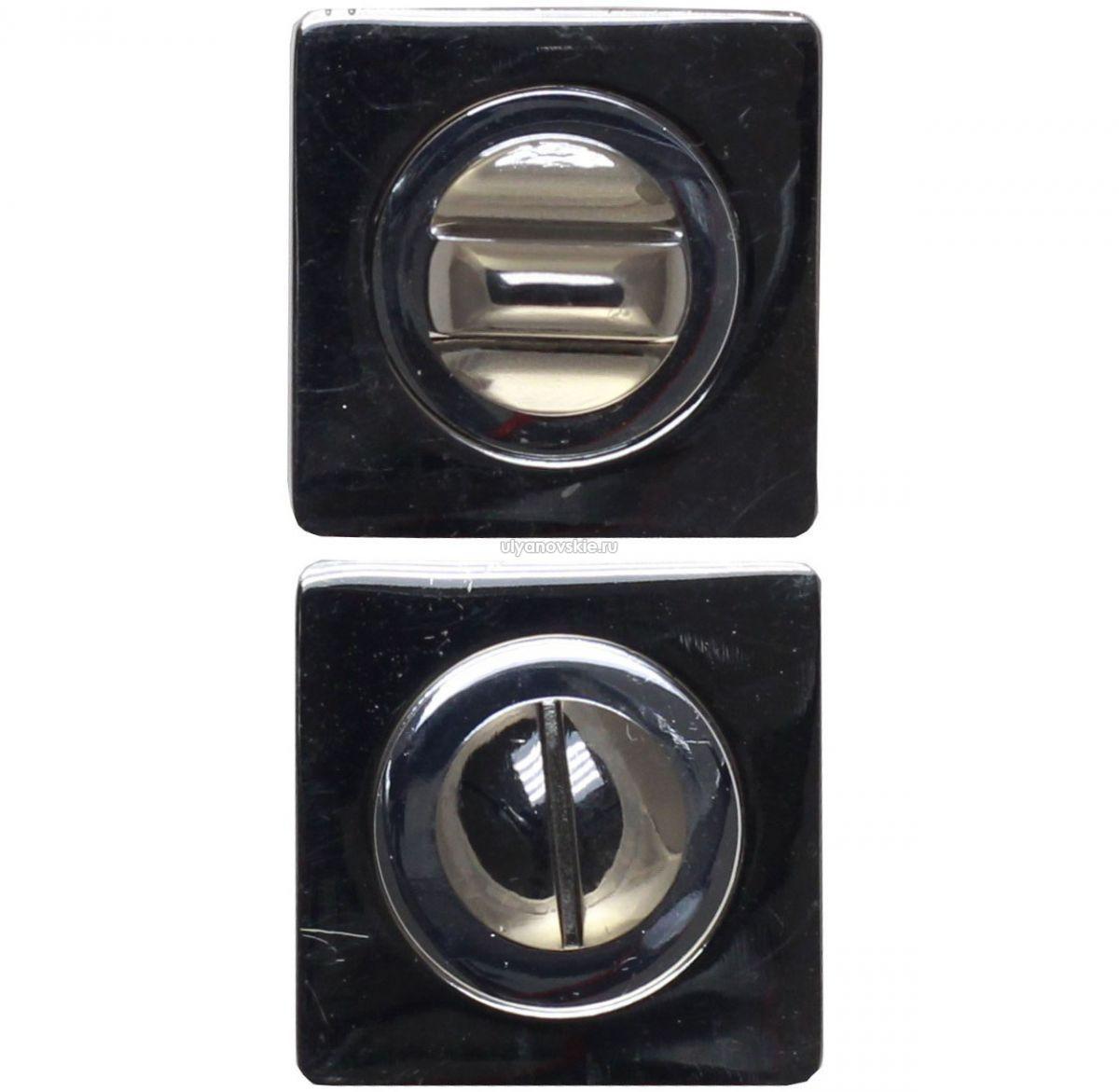 Фиксатор Vintage BK02BN/CP черный никель/хром