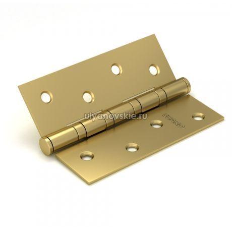 Петля Fuaro 4ВВ 100х75 золото матовое