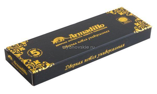 Петля Armadillo Castillo CL 500-A4 102x76x3,5 AS Античное серебро