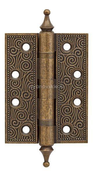 Петля Armadillo Castillo CL 500-A4 102x76x3,5 OB Античная бронза