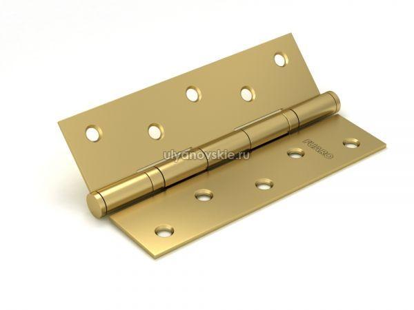 Петля Fuaro 2BB/BL 125x75x2,5 SB Матовое золото