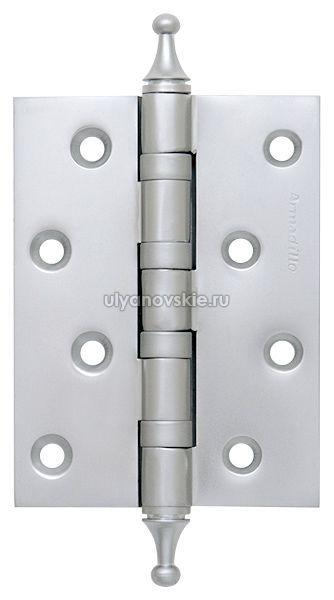 Петля Armadillo 500-A4 100x75x3 SC Матовый хром