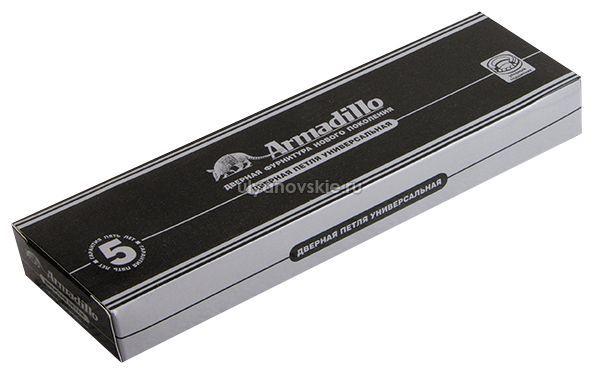 Петля Armadillo 500-A5 125х75х3 SG Матовое золото
