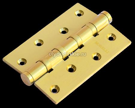 Петля Morelli латунная универсальная MBU 100X70X3-4BB-SG матовое золото
