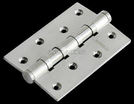 Петля Morelli латунная универсальная MBU 100X70X3-4BB-SN Белый никель
