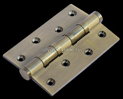 Петля Morelli латунная универсальная MBU 100X70X3-4BB-AB Античная бронза
