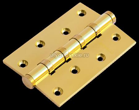 Петля Morelli латунная универсальная MBU 100X70X3-4BB-PG Золото