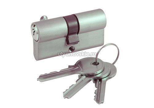 Цилиндр под ключ Vintage V60 никель