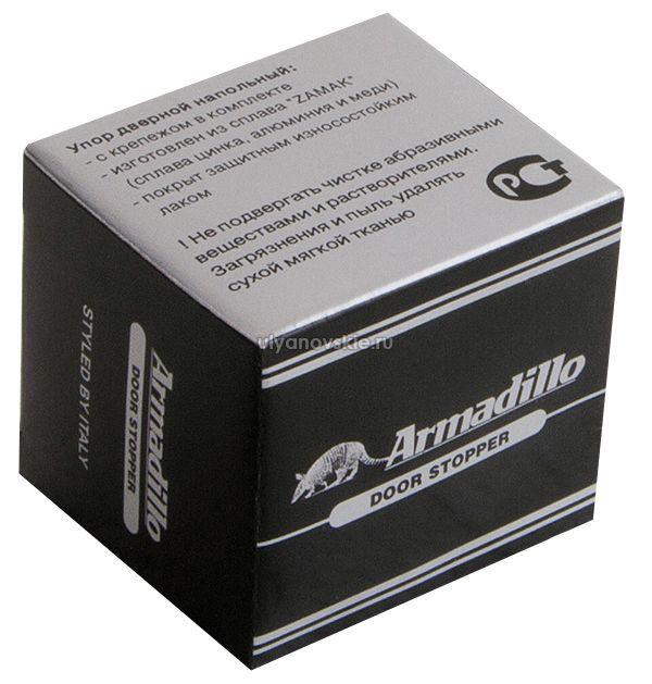 Упор дверной Armadillo DH003ZA SN Матовый никель