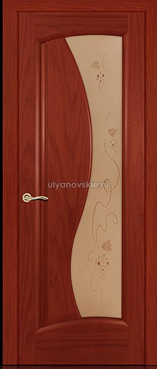 дверь Ситидорс Лазурит, Красное дерево, ДО
